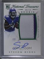 Rookie Autograph Patch (RPS Numbers) - Stefon Diggs #/14