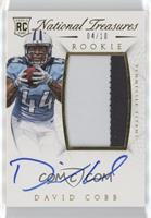 Rookie Autograph Patch (RPS) - David Cobb #/10