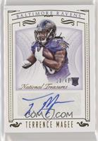 Rookie Signatures - Terrence Magee /49