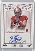 Rookie Signatures - Blake Bell /49