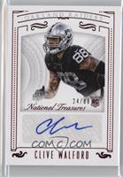 Rookie Signatures - Clive Walford /88