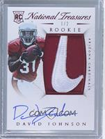Rookie Autograph Patch (RPS) - David Johnson /2
