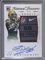 Rookie Autograph Patch (RPS) - Ty Montgomery #3/3