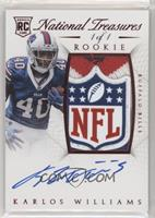 Rookie Autograph Patch (RPS) - Karlos Williams #/1
