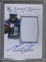 Rookie Autograph Patch (RPS) - Melvin Gordon #/25
