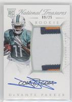 Rookie Autograph Patch (RPS) - DeVante Parker /25