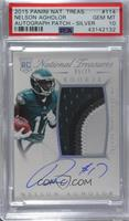 Rookie Autograph Patch (RPS) - Nelson Agholor [PSA 10 GEM MT] #/…