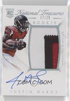 Rookie Autograph Patch (RPS) - Justin Hardy #/25