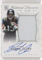 Rookie Autograph Patch (RPS) - Rashad Greene /25