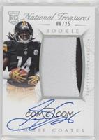 Rookie Autograph Patch (RPS) - Sammie Coates #/25