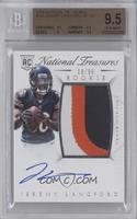 Rookie Autograph Patch (RPS) - Jeremy Langford /99 [BGS 9.5]