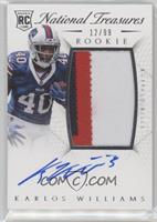 Rookie Autograph Patch (RPS) - Karlos Williams /99