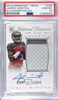 Rookie Autograph Patch (RPS) - Jameis Winston [PSA 10 GEM MT] #/…