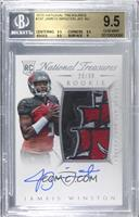 Rookie Autograph Patch (RPS) - Jameis Winston [BGS 9.5 GEM MINT]…