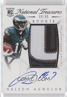 Rookie Autograph Patch (RPS) - Nelson Agholor /99