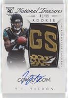 Rookie Autograph Patch (RPS) - T.J. Yeldon #/99