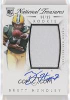 Rookie Autograph Patch (RPS) - Brett Hundley #/99