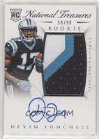 Rookie Autograph Patch (RPS) - Devin Funchess #/99
