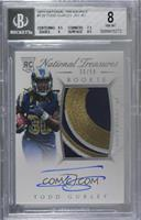 Rookie Autograph Patch (RPS) - Todd Gurley II [BGS 8 NM‑MT] #/99