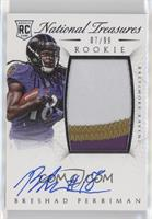 Rookie Autograph Patch (RPS) - Breshad Perriman #/99