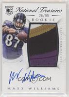 Rookie Autograph Patch (RPS) - Maxx Williams [Noted] #/99