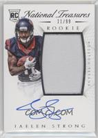 Rookie Autograph Patch (RPS) - Jaelen Strong /99