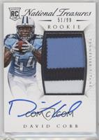 Rookie Autograph Patch (RPS) - David Cobb /99