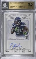 Rookie Signatures - Thomas Rawls [BGS 9.5 GEM MINT] #/99