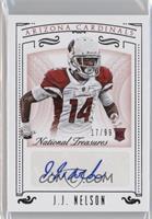 Rookie Signatures - J.J. Nelson /99