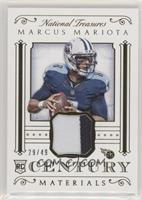 Marcus Mariota #/49