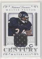 Walter Payton #/34