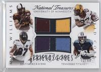 Maxx Williams, David Cobb #/99