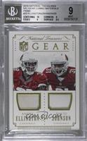 Andre Ellington, David Johnson /25 [BGS 9]