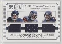 Jay Cutler, Alshon Jeffery, Kevin White /49