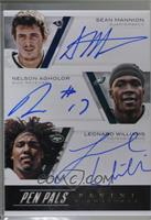 Leonard Williams, Sean Mannion, Ty Montgomery, Buck Allen, Nelson Agholor, Vinc…