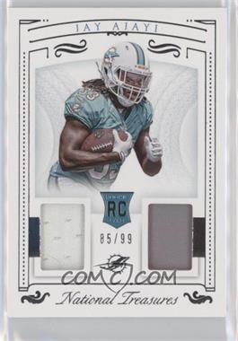 2015 Panini National Treasures - Rookie Dual Materials #RDM-JA - Jay Ajayi /99