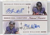 Breshad Perriman, Maxx Williams #/15