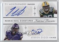 Stefon Diggs, Ty Montgomery /49