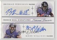 Breshad Perriman, Maxx Williams #/25