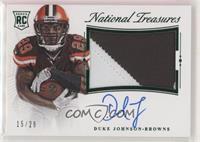 Duke Johnson #/29