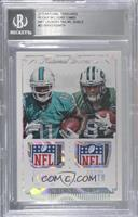 DeVante Parker, Devin Smith /1 [BGS Encased]