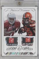 David Johnson, Duke Johnson #/1