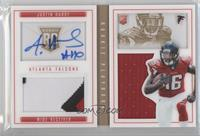 Rookies Booklet - Justin Hardy #/99