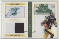 Rookies Booklet - Sammie Coates [Noted] #/25
