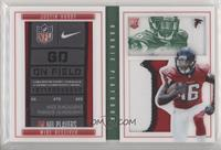 Rookies Booklet - Justin Hardy [Noted] #/5