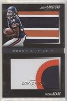 Rookies Booklet - Jeremy Langford #/10
