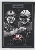 Jerry Rice, Steve Young /99