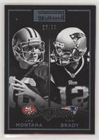 Joe Montana, Tom Brady /99