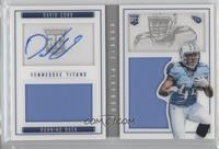 Rookies Booklet - David Cobb #/199