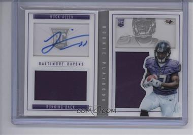 2015 Panini Playbook - [Base] - Signatures [Autographed] #80 - Rookies Booklet - Buck Allen /199